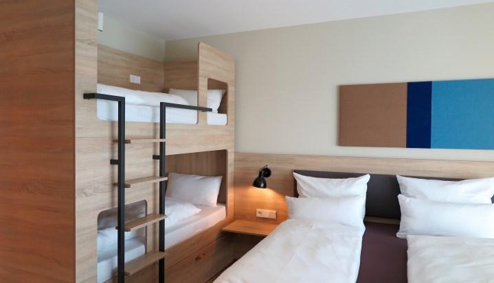 Hotel Die Sandburg Langeoog - Familienzimmer