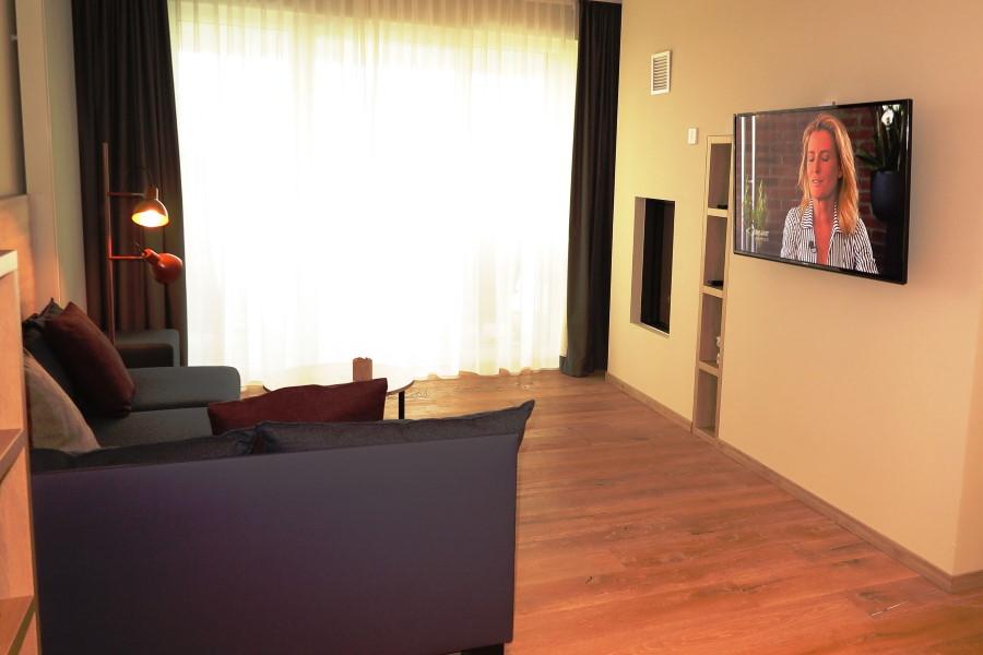 Hotel Die Sandburg Suite Sitzecke 2