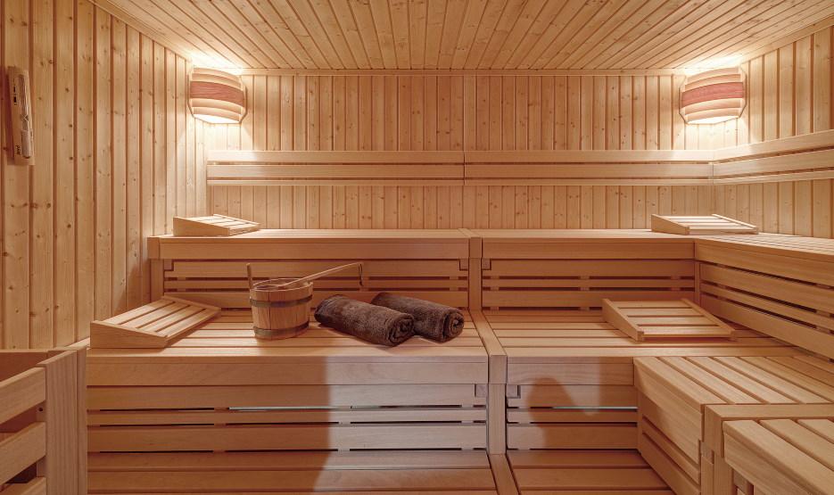 Hotel DIe Sandburg Langeoog - Sauna