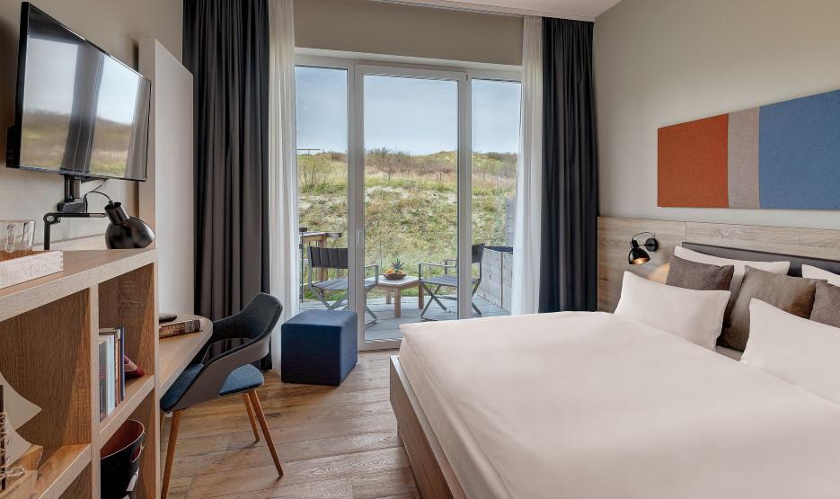 Hotel Die Sandburg Langeoog - Doppelzimmer 1