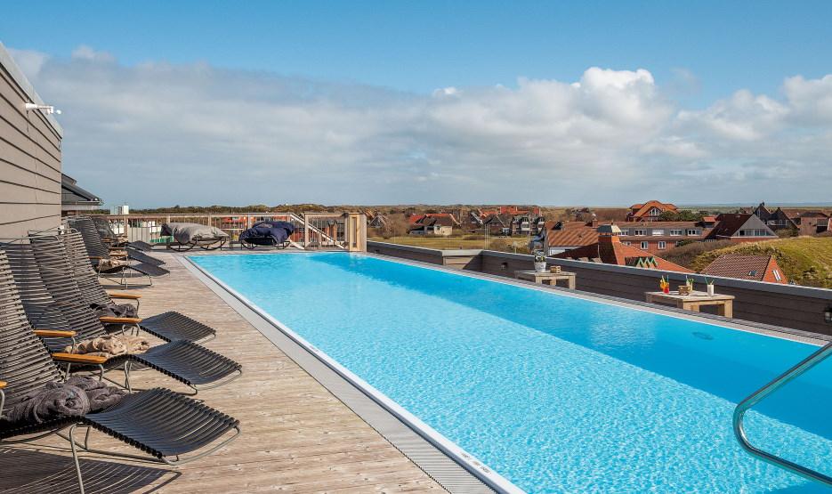 Hotel Die Sandburg Langeoog - Pool 4