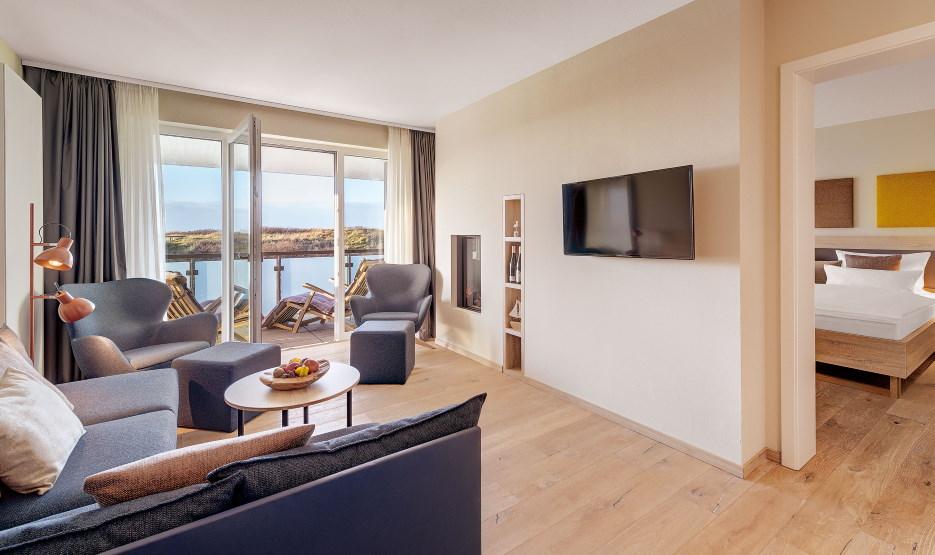 Hotel Die Sandburg Langeoog - Suite 2